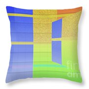Andee Design Abstract 2 Of The 2016 Collection Throw Pillow by Andee Design