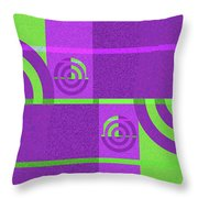 Andee Design Abstract 4 Of The 2016 Collection Throw Pillow by Andee Design