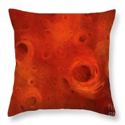 Andee Design Abstract 86 2017 Throw Pillow