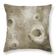 Andee Design Abstract 86 2017 B W Throw Pillow