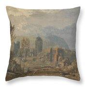 Andernach  Throw Pillow
