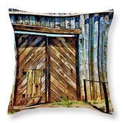 Andersonville Gateway To Hell Throw Pillow
