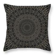 Andoluvium Metal Mandala Throw Pillow