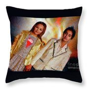 Andrew Blaner A Night Out Throw Pillow