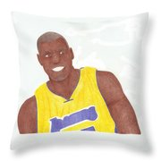 Andrew Bynum Throw Pillow
