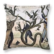Andrew Jackson (1828) Throw Pillow