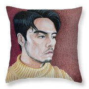 Andrew Portrait Throw Pillow