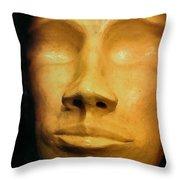 Andro Alien Throw Pillow