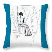 Androdameia Throw Pillow
