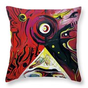 Andromeda Galaxy Throw Pillow by John Jr Gholson