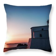 Andros Island Sunset - Greece Throw Pillow