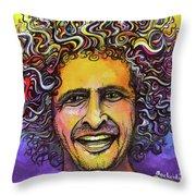 Andy Frasco Throw Pillow