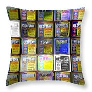 Andy Squared Throw Pillow