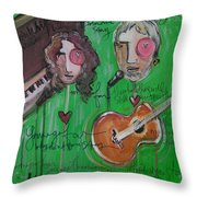 Andy White At Swallow Hill Throw Pillow