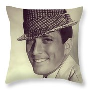 Andy Williams, Singer Throw Pillow
