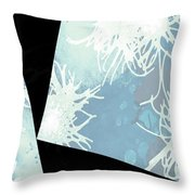 Anemone Angles Throw Pillow