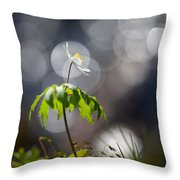 Anemone  Throw Pillow by Rikard Strand