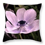 Anemore In Pink Throw Pillow
