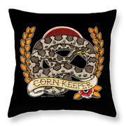 Anery Corn Keeper Throw Pillow