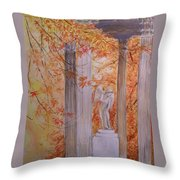 Ange  Petit Trianon Versailles Throw Pillow