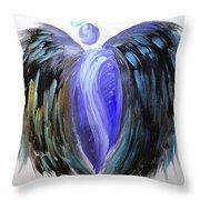 Angel 107 Throw Pillow
