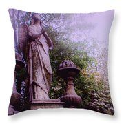 Angel At Old Swedes Throw Pillow