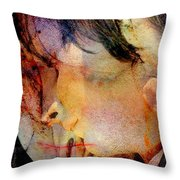 Angel Blessings Throw Pillow