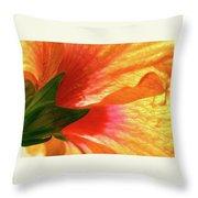 Angel Brushstrokes  Throw Pillow