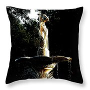 Angel  Throw Pillow by Dana Patterson