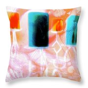 Angel Exposed2 Throw Pillow