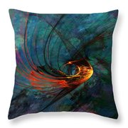 Angel From The Deep Throw Pillow