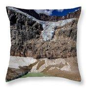 Angel Glacier Jasper 2 Throw Pillow