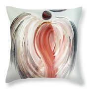 Angel Grace Throw Pillow