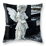 Angel In Roscommon No 3 Throw Pillow