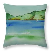 Angel Island Unplugged Throw Pillow