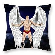 Angel Love 2  Throw Pillow