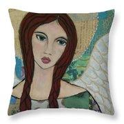 Angel Love Throw Pillow