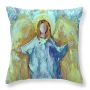 Angel Of Harmony Throw Pillow