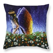 Angel Of Harmoy Throw Pillow