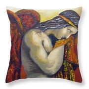 Angel Of Love Throw Pillow