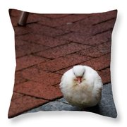 Angel Of The City Throw Pillow