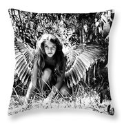 Angel Of The Wild Throw Pillow