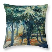 Angel Rays Throw Pillow