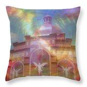 Angel Sanctuary Throw Pillow