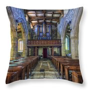 Angel Voices For  Ever Singing Throw Pillow