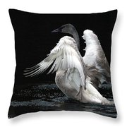 Angel Wings 2 Throw Pillow