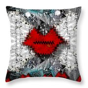 Angel Wings Comes In Love Throw Pillow