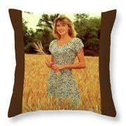 Angela Wheat-0781 Throw Pillow