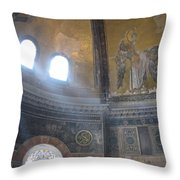 Angelic Alcove Throw Pillow