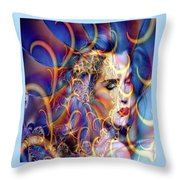 Angelic Beauty Throw Pillow